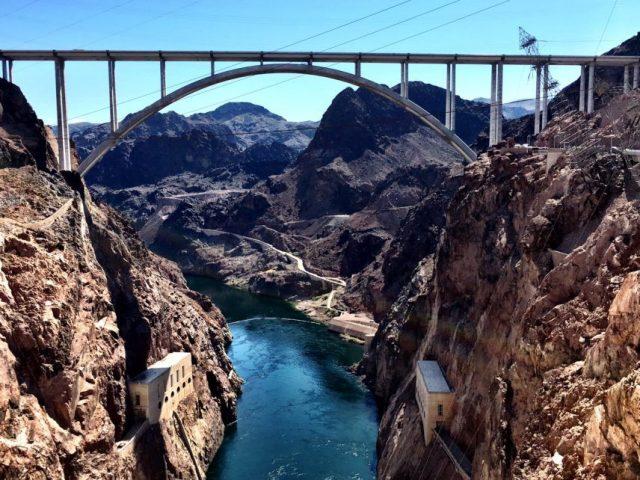Mike O'Callaghan–Pat Tillman Memorial Bridge Tallest in America