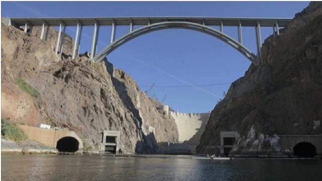 Mike O'Callaghan–Pat Tillman Memorial Bridge Tallest in the USA