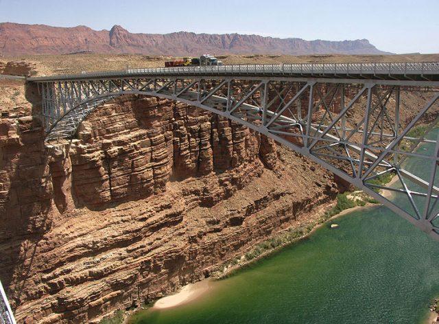 Navajo Bridge Tallest in USA