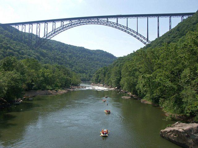 New River Gorge Bridge Tallest in America