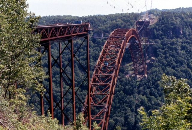 New River Gorge Bridge Tallest in the USA