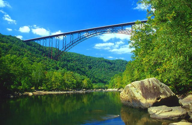 New River Gorge Bridge Tallest in the United States