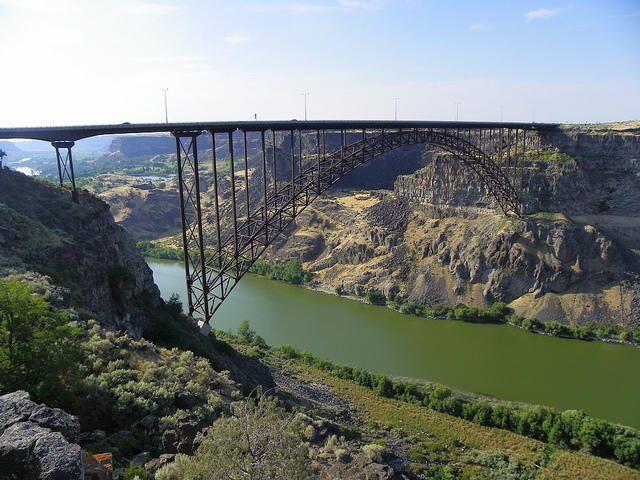 Perrine Bridge Tallest in America