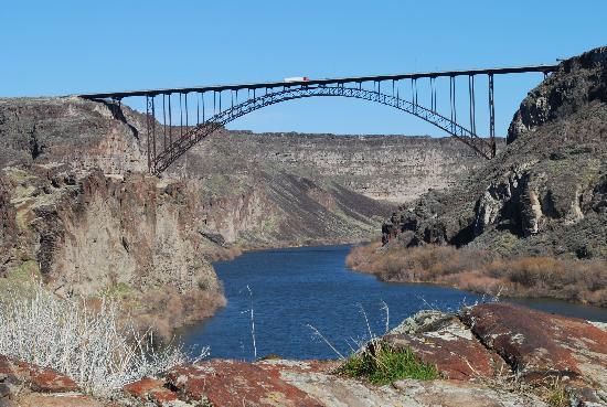 Perrine Bridge Tallest in the USA