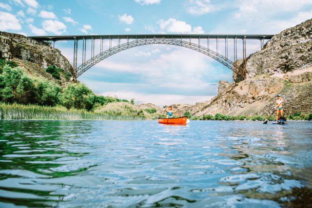 Perrine Bridge Tallest in the United States