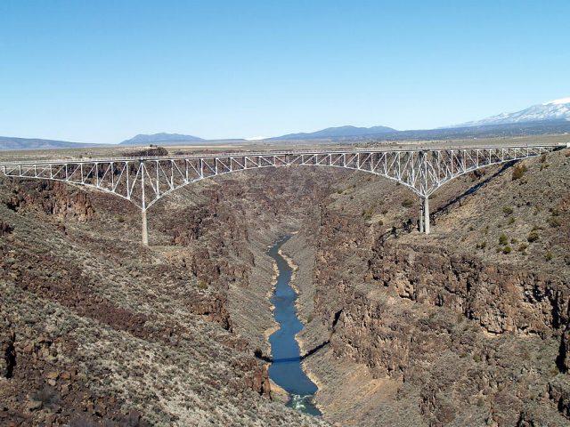 Rio Grande Gorge Bridge Tallest in America