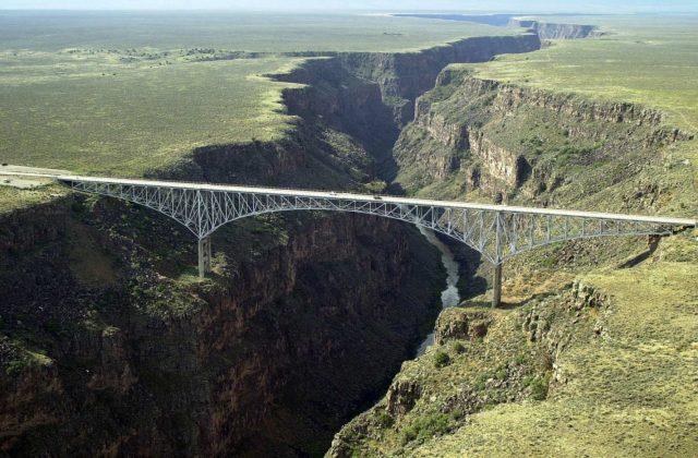Rio Grande Gorge Bridge Tallest in the USA