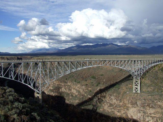 Rio Grande Gorge Bridge Tallest in the United States