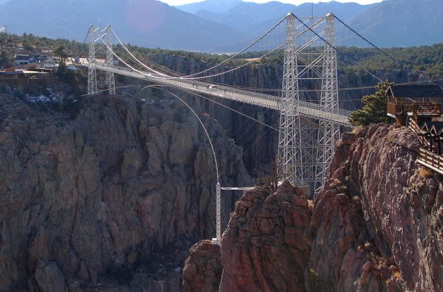 Royal Gorge Bridge Tallest in America