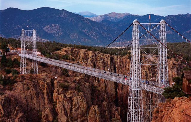 Royal Gorge Bridge Tallest in the USA
