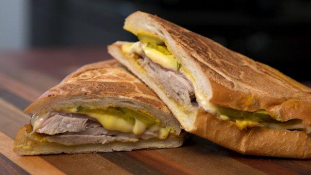 Cubano Sandwich Popular Cuban Food