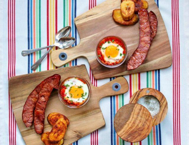 Huevos Habaneros Cuban Breakfast Food