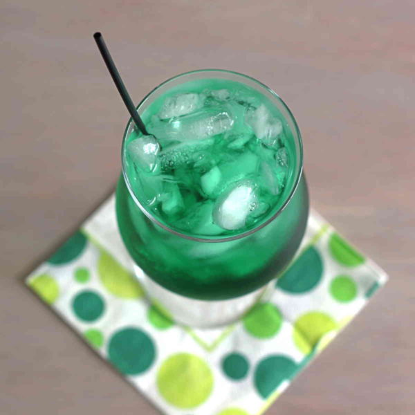 Misty Mint Irish Drinking Toast