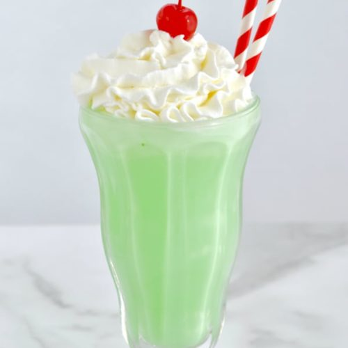 Shamrock Shake Irish Non Alcoholic Drink