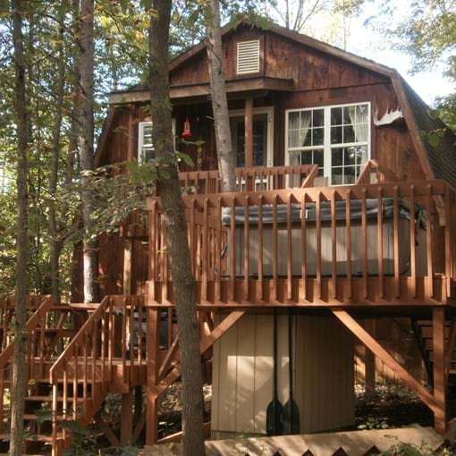 The Canopy Hocking House Ohio Tree House Rentals