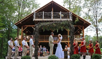 The Grand Barn and Treehouses Mohican Tree Houses Ohio