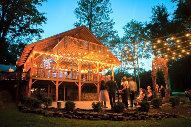 The Grand Barn and Treehouses Wedding Ohio