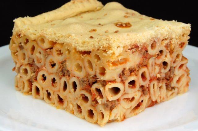 Timpana Maltese Pasta Dish