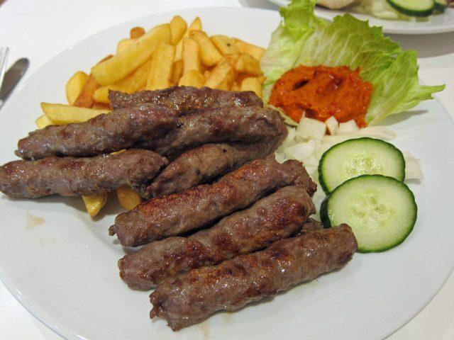 Ćevapi Famous Macedonian Food