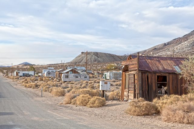 Atolia Ghost Towns California