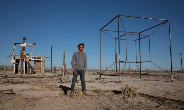 Bombay Beach Ghost Towns in Southern California