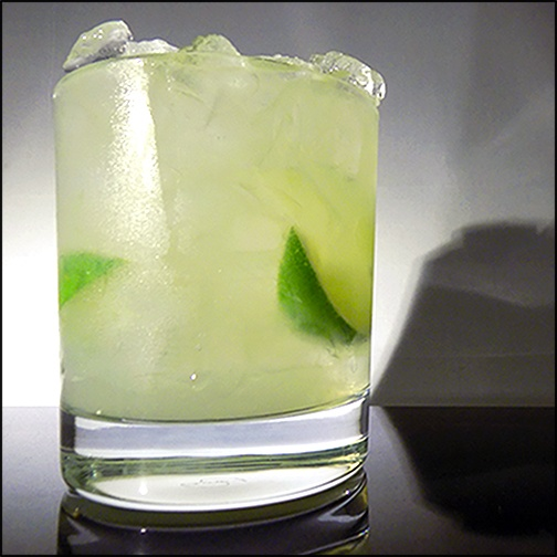 Brazilian Vodka Lime Drink
