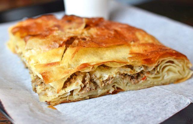 Burek Macedonian Food