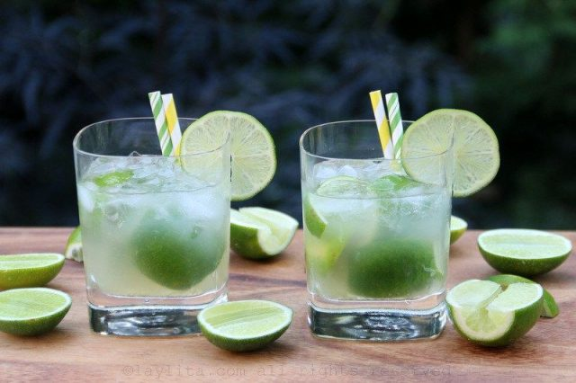 Caipirinha Brazilian Alcoholic Drink