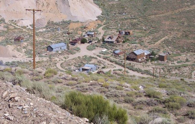 Cerro Gordo California Ghost Town