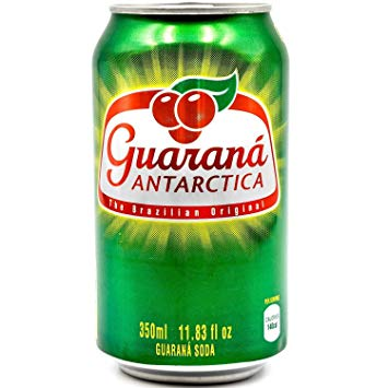 Guarana Antarctica Brazilian Soft Drink