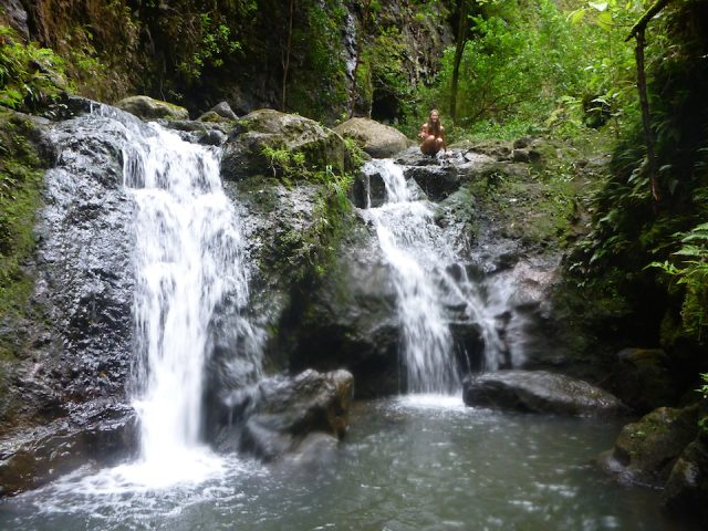 Koloa Gulch Easy Waterfalls Hikes in Oahu