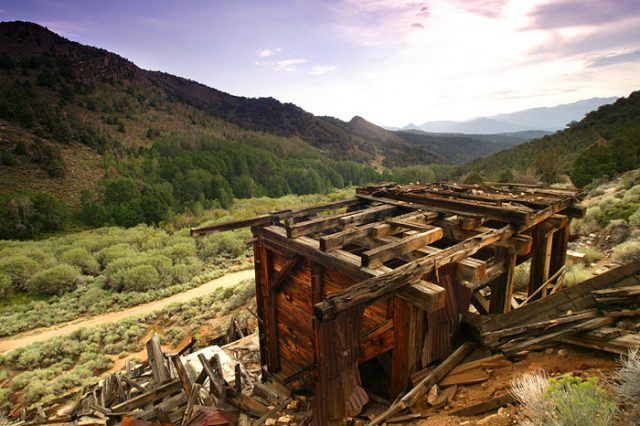 Masonic Ghost Town in California