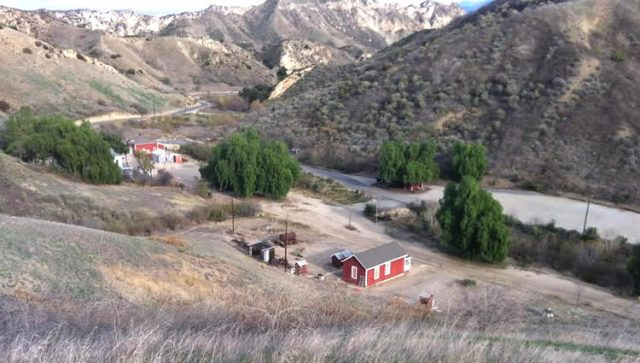 Mentryville Ghost Town in California