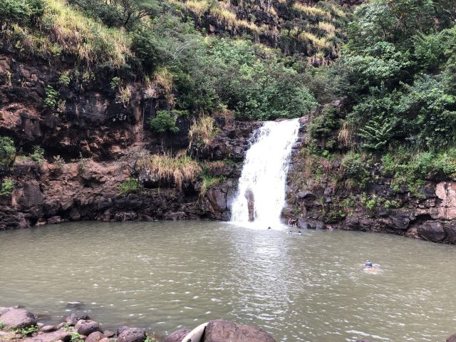North Shore Waimea Waterfalls in Oahu Hikes