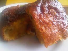 Plantain Cake Popular Colombian Vegan Food