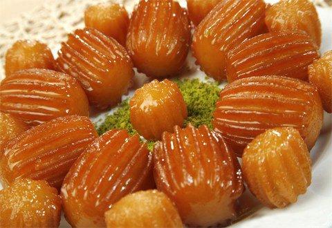 Tulumba Macedonian Food