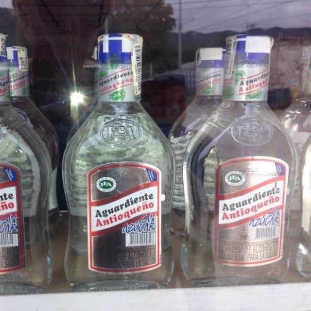 Aguardiente Columbian Drinks