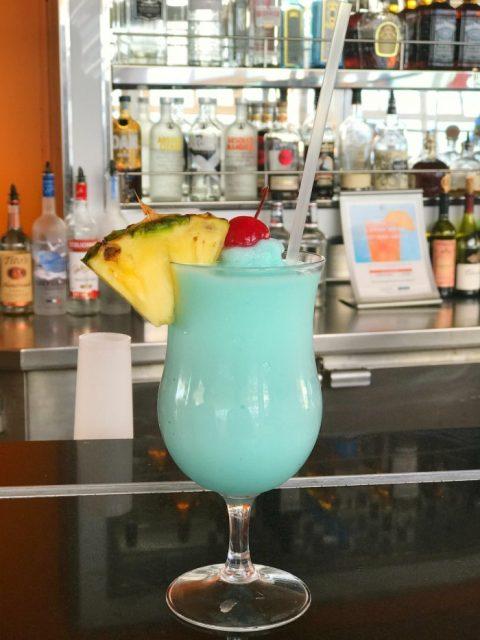 Green Hawaiian Drink