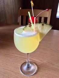 Hawaiian Mimosa Drink