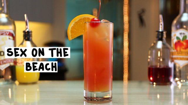 Hawaiian Sex on the Beach Drink