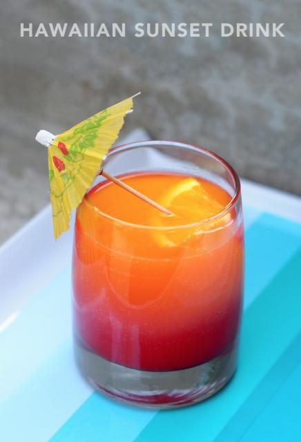 Hawaiian Sunset Drink