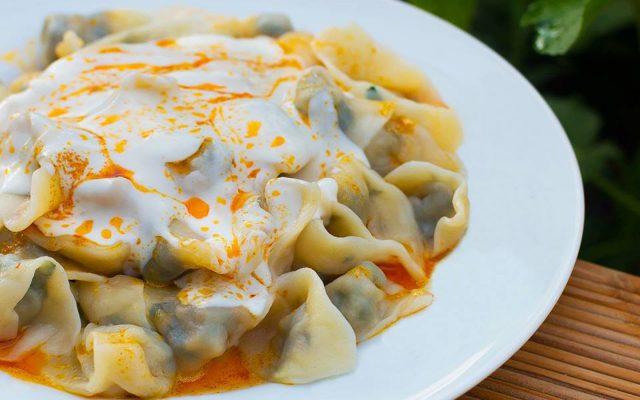 Manti Famous Kazakhstan Food