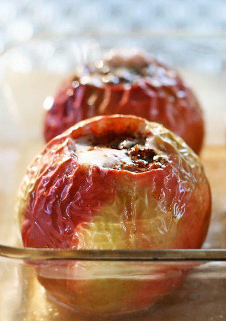 Baked Apple Dessert Mediterranean Diet