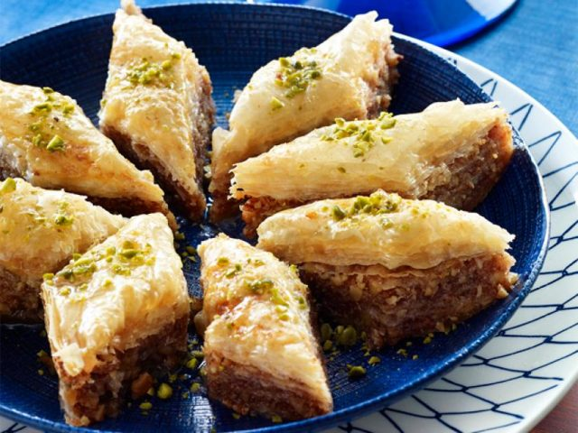 Baklava Mediterranean Dessert