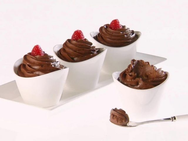 Mediterranean Chocolate Avocado Pudding Dessert