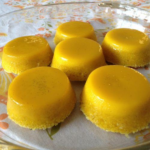 Quindim Brazilian Custard Dessert
