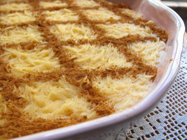Alteria Portuguese Spaghetti Dessert