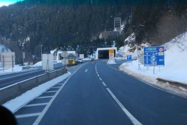 Arlberg Tunnel Longest in the World