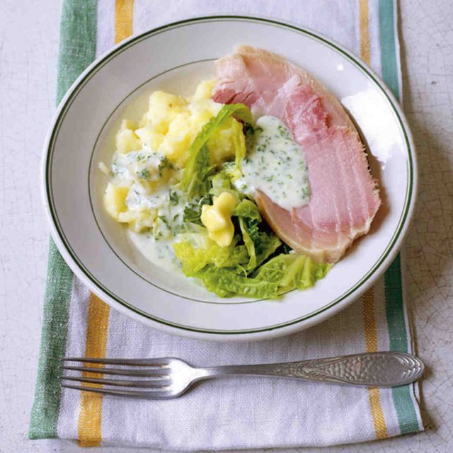 Bacon and Cabbage Famous Irish Food