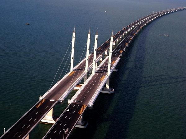 Cangde Grand Bridge Longest in the World